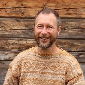 Bjørn Willemoes Wissing er lærer på linja Sjølberging på Fosen Folkehøgskole