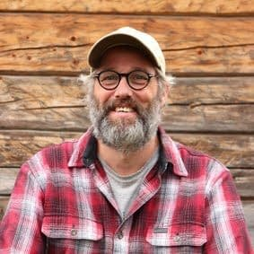 Anton van Genugten er lærer på linja Økologisk småbruk på Fosen Folkehøgskole