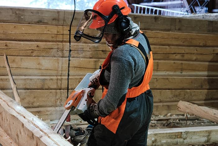 chainsaw lafting fosen fhs